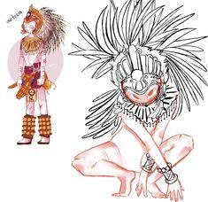the fujoshi prision Aztec Emperor, Thor X Loki, Disney Cartoon Characters, Mundo Comic, Drawing Expressions, Indian Tribes, Human Art, Country Art, Neon Genesis Evangelion