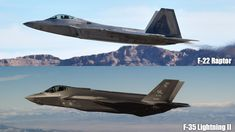 Lockheed Martin F-22 vs F-35 cost, performance, size, top speed, comparisons, photos. Read about differences between the F-22 Raptor & the F-35 Lightning.