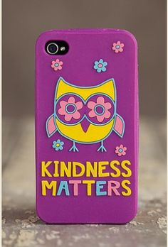 KiNDNESS MaTTeRS iPHONe CoVER