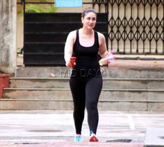 Former flames Kareena Kapoor Khan and Shahid Kapoor were clicked at a gym in Bandra, Mumbai. The two, however, missed crossing each other's path. Take a look at their pictures...