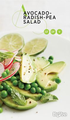 Avocado-Radish-Pea Salad could not be simpler. In fact, you can prep this salad in the time it takes for the meat to rest after you've removed it from the grill.