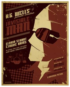 invisible man poster by *strongstuff on deviantART