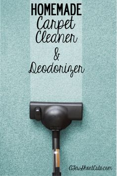 Freshen and clean your carpet for pennies! Check out this Homemade Carpet Cleaner & Deodorizer. It really works!