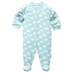 Cloud Coverall - Mint