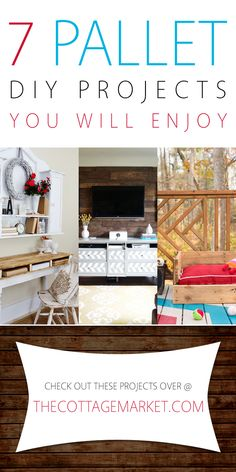 7 Pallet DIY Projects You Will Enjoy - The Cottage Market