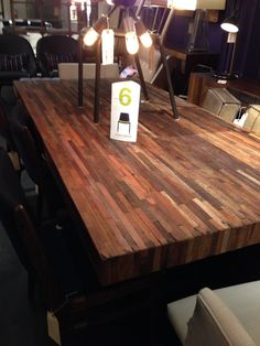 Love this table from #hdbuttercup