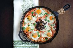 Shakshuka: Cradle Your Eggs In A Cozy Blanket Of Tomatoes And Spices