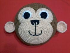 Crochet Cushions, Crochet Pillow, Crochet Baby, Crochet Toys Patterns, Crochet Dolls, Unique Crochet, Animal Pillows, Stuffed Animal Patterns, Crochet Gifts