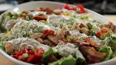 Get Cobb Salad with Blue Cheese Dressing Recipe from Food Network