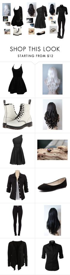 """Untitled #410"" by melindaisinsane ❤ liked on Polyvore featuring WithChic, Dr. Martens, Verali, Burberry, Object Collectors Item, Converse, galaxy, rainbow and OC"