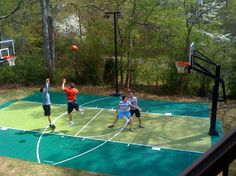 It's summer time and the kids are out of school! Keep them entertained and active on your backyard Sport Court game court with these 10 summer outdoor activities!     Don't have a backyard court? No problem! These activities can be done in your yard or at the local park.