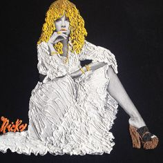 Stevie Nicks T-shirt Painted 3d