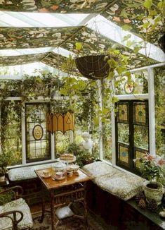 Marvelous 34 Adorable Conservatory Inspirations to Inspire You http://godiygo.com/2018/01/25/34-adorable-conservatory-inspirations-inspire/