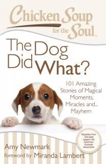 Arrives in Bookstores on Aug. 19th -- Chicken Soup for the Soul: The Dog Did What?: 101 Amazing Stories of Magical Moments, Miracles and Mayhem -- Enter to win 1 of 3 copies up for grabs -- http://www.inspiredbysavannah.com/2014/08/arrives-in-bookstores-on-aug-19th.html -- Ends 8/29