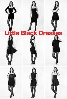 Little Black Dress by #AmericanApparel