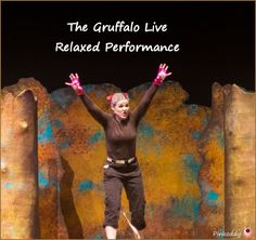 The Gruffalo Live Relaxed Performance at Birmingham Town Hall - designed for those on the Autistic Spectrum, Learning difficulties, Sensory and Communcation difficulties.