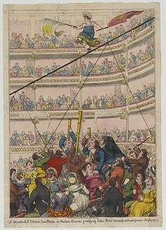 Bland, Kitty Stephens, and more Regency Vauxhall stuff. Vauxhall Gardens: An Era of Change Part III, via Susana's Parlour. Madame Saqui at Covent Garden. Theatre Costumes, Carnivals, Covent Garden, Parlour, Regency, Shabby, Gardens, Kitty, Change