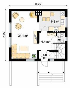 Civil Engineering Design, Small Floor Plans, Minimal Home, Architecture Plan, Scandinavian Interior, Interior Design Living Room, House Plans, Sweet Home, How To Plan