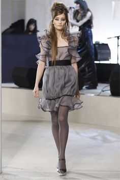 Chanel Pre-Fall 2008 Fashion Show - Adina Forizs