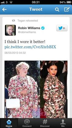 laugh, stuff, giggl, funni, random, robin williams, robins, humor, doubtfir