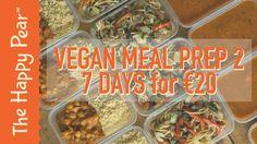VEGAN MEAL PREP 2   7 DAYS FOR €20