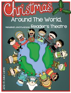 Christmas Around the World Reader's theater. This has two reader parts for 11 different countries along with parts for Kwanzaa, and Hanukkah.  Great for presenting to parents or for understanding traditions in other countries.