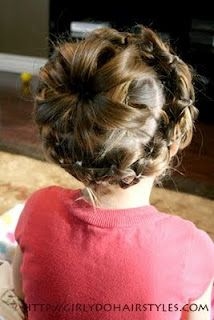 SUPER cute hairstyles for the girls!