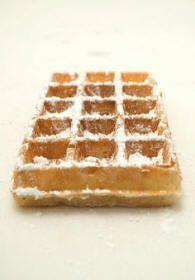 recettes: desserts: Gaufre de Bruxelles