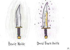 David Bowie Knife