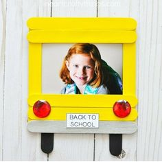 DIY Back-to-School Photo Frame Cherish first day of school memories with this darling DIY back-to-school photo frame. Fun back-to-school crafts for kids and back-to-school activities. The post DIY Back-to-School Photo Frame appeared first on School Diy.