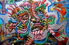 Arnaud Rabier alias NOWART est artiste plasticien, originaire de la planète graffiti, ou plus officiellement de Clichy