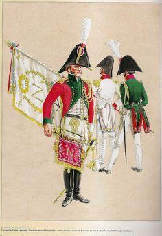 NAP- France: LA GARDE D'HONNEUR DE NANTES, 1808, by Michel Pétard.