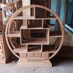 Rak Buku Kayu #Jati #Jepara Sidu by #NusaMebel  Round #BookShelve with lot of #space made from #TeakWood. Unfinish product leaked   PIN : 7658A033 Call WA : 081908021000 Inquiry : info@nusamebel.com Website : nusamebel.com  #Mebel #Meuble #MebelJepara #Furniture #FurnitureJepara #Rumah #Home #Interior #HomeDecor #HomeInterior #RakBuku #Shelves #Book #BookStorage #FurnitureDesign #FurnitureInterior #InteriorDesign #Etsy