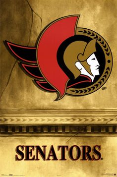 My team Ottawa Senators Nhl Hockey Teams, Ice Hockey, Nhl Logos, Sports Logos, Sports Teams, Lets Go Pens, Vancouver Canucks, Washington Capitals, National Hockey League