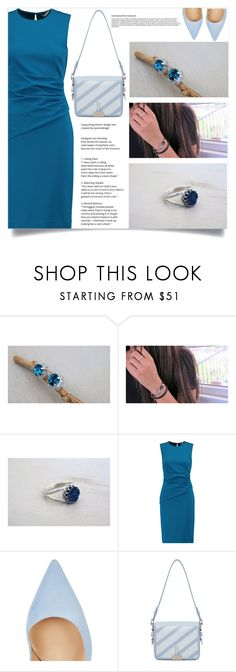 """""""Best Offers Boutique!"""" by samra-bv ❤ liked on Polyvore featuring Diane Von Furstenberg, Gianvito Rossi and Off-White"""