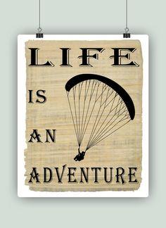 Paragliding arte la vida es un adeventure por DigitalArtLand