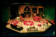 The Importance of Being Earnest Set Design by Chris Harris