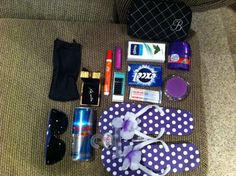 Bridesmaid Survival kit! I definitely want to do something along the lines of this one day.