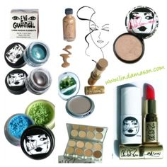 Linda Mason Artist and Pro makeup Artist. Unique Makeup Products