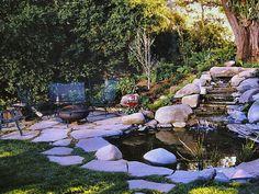 Serene Pond : Water Feature | Dan Berger : Garden Galleries : HGTV - Home & Garden Television