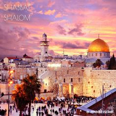#Shabbat #Shalom from #Jerusalem, the eternal home of the Jewish people! #Israel #Kotel #WesternWall #TempleMount