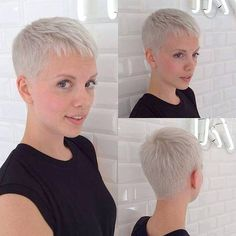 Cute short short pixie
