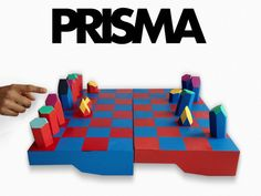 PRISMA by Lupe Toys, Inspired by Nature, via Kickstarter. We use play and design to explore the rules of nature. PRISMA: a game, a chess set, a geometric puzzle.