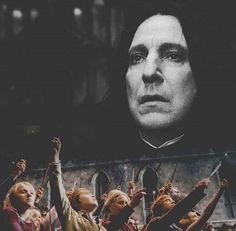 """The ones who love us never really leave us...""   RIP Alan Rickman- You will forever be in our heart!"