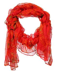 rue21 red scarf