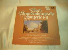 412) LP: Bach Brandenburgische Konzerte 1 - 6, Preis 10€