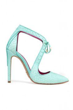 Oscar Tiye Python Stilettos | Style.com/Arabia