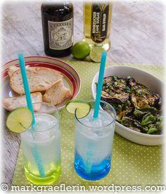 Pimientos de Padron und Aubergine Lime Rickey5