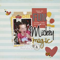 NEW!  Say Cheese II - Scrapbook.com - Made with the new Simple Stories Say Cheese II Collection.