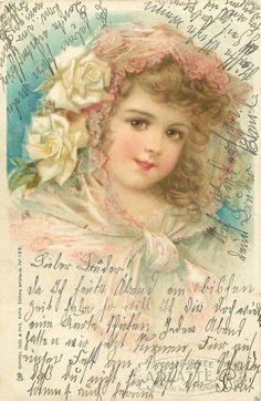 """Vintage Card 1902 / """"Editions Artistique"""" / Frances Brundage"""
